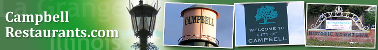 Campbell, CA area restaurant guide