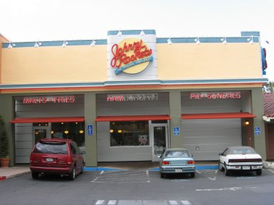 Johnny Rockets in Campbell, California