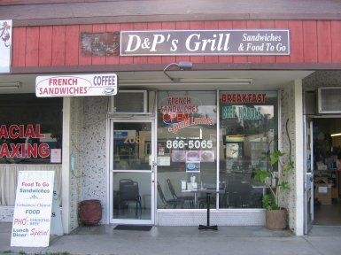 D & P Grill in Campbell, California