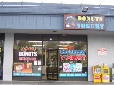 Campbell Donuts & Yogurts in Campbell, California