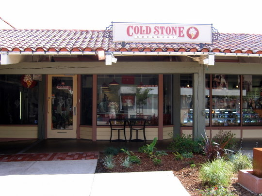 Cold Stone Creamery in Campbell, California