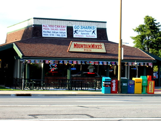 Mountain Mike's Pizza in Campbell, California