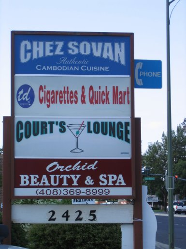 Chez Sovan Cambodian Asian food plaza